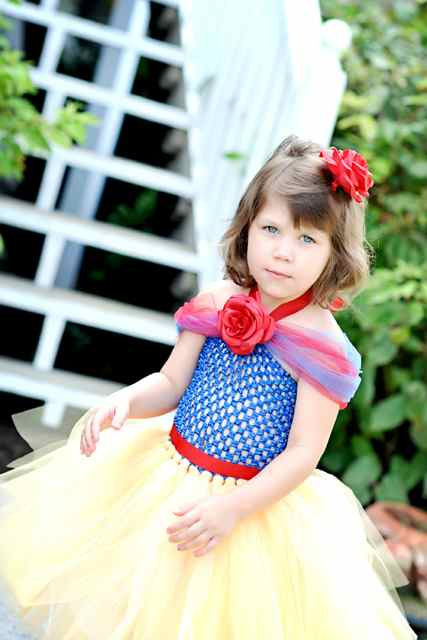 Snow White Princess Tutu  Costume - Halloween/Dress Up